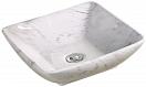 Раковина CeramaLux Stone Edition Mnc184 41.5 см белый