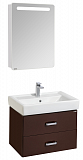 Мебель для ванной Акватон Америна 70, темно-коричневый
