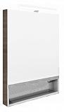 Зеркальный шкаф Roca Gap 80 см, тиковое дерево (снято с производства)