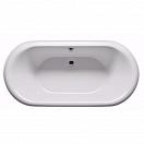 Акриловая ванна Riho Dua 180x86 см черная панель