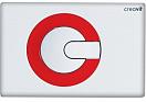 Кнопка смыва Creavit Power GP5001.01 белый/красный