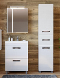 Мебель для ванной Vigo 5 звезд Plaza-2 60 см белый