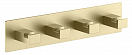 Вешалка для полотенец Timo Selene 17015/17 золото матовое