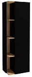 Шкаф пенал Jacob Delafon Terrace 50 см R черный лак