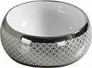 Раковина CeramaLux 5004SP 39.5 см серебро