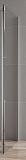Боковая стенка Cezares Stylus Soft STYLUS-SOFT-80-FIX-C-Cr 80x195