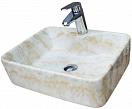 Раковина CeramaLux Stone Edition Mnc606 48 см бежевый