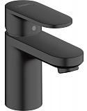 Смеситель для раковины Hansgrohe Vernis Blend 71550670, донный клапан, черный матовый