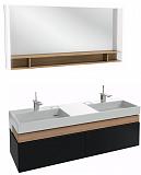 Мебель для ванной Jacob Delafon Terrace 150 см черный лак