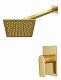 Душевой набор WasserKRAFT Aisch A55180 матовое золото