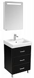 Мебель для ванной Акватон Америна 60 М, черный
