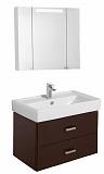 Мебель для ванной Акватон Америна 80 см, темно-коричневый