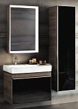 Мебель для ванной Keramag Citterio 88 см с отверстием, темный дуб