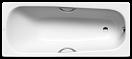 Стальная ванна Kaldewei Saniform Plus Star 180x80 337+easy-clean с отверстиями под ручками