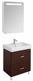 Мебель для ванной Акватон Америна 70 Н, темно-коричневый