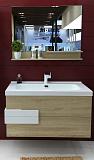 Мебель для ванной Orans BC-2023D-1000 100 см дуб/белый глянец