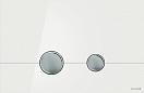 Кнопка смыва Cersanit Stero BU-STE/Whg/Gl белый глянец