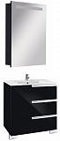 Мебель для ванной Roca Victoria Nord Black Edition 60 см 3 ящика, черный (снято с производства)
