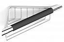 Поручень для ванны Black&White SN-2155 угловой с полкой