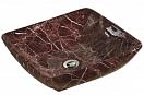 Раковина CeramaLux Stone Edition Mnc182 41.5 см бордовый