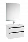 Мебель для ванной Roca Domi 80 см, 2 ящика, белый глянец