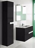 Мебель для ванной Roca Victoria Nord Black Edition 80 см 2 ящика, черный (снято с производства)