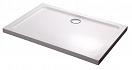 Поддон для душа Black&White Stellar Wind Slim Line RS-0810 80x100 прямоугольный