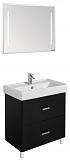 Мебель для ванной Акватон Америна 80 Н, черный