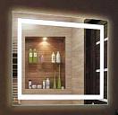 Зеркало Relisan Doris 80x60 см, с подсветкой