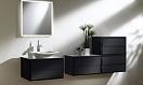 Мебель для ванной Jacob Delafon Escale 98 см черный лак