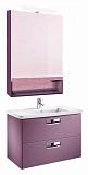 Мебель для ванной Roca Gap 80 см фиолетовый