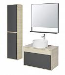 Мебель для ванной Акватон Лофт Урбан 80 см графит/дуб орегон