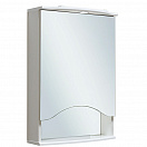 Зеркальный шкаф Руно Фортуна 50 R белый