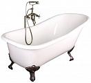 Чугунная ванна Elegansa Schale antique 170x75 см