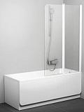 Шторка для ванны Ravak Chrome CVS2-100 R белый