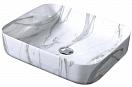 Раковина CeramaLux Stone Edition Mnc190 50 см белый/серый