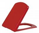Крышка-сиденье Creavit Sorti KC2103.01.1100E с микролифтом, красный