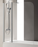 Шторка для ванны Cezares Eco 120x145 рифленая, L/R
