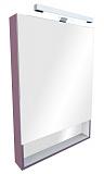 Зеркальный шкаф Roca Gap 80 см, фиолетовый