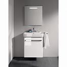 Мебель для ванной Geberit Renova Compact 55 см белый глянец