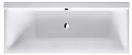 Акриловая ванна Duravit P3 Comforts 700296 170x75 с ножками, левый наклон для спины