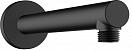 Кронштейн для душа Hansgrohe Vernis Blend 27809670 черный матовый
