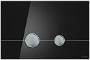 Кнопка смыва Cersanit Stero BU-STE/Blg/Gl черный глянец