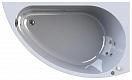 Акриловая ванна Вахтер Бергамо 168х100 см R с г/м