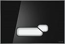 Кнопка смыва Cersanit Actis BU-ACT/Blg/Gl черный глянец