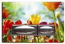 Кнопка смыва Creavit GP4009.04 тюльпан