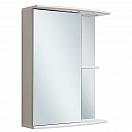 Зеркальный шкаф Руно Николь 55 L белый