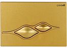 Кнопка смыва Creavit Ufo GP1006.00 золото матовое