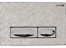 Кнопка смыва Creavit Design Ozel GP4009.36 хром/узор