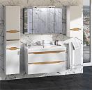 Мебель для ванной Cerutti SPA Алессандрия 80 см подвесная, белый